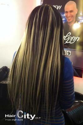 שיער לאחר החלקה